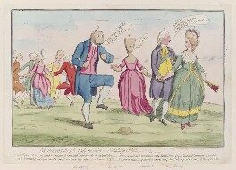 'Monuments lately discovered on Salisbury Plain', by James Gillray, published by  Hannah Humphrey, published 15 June 1782 - NPG  - © National Portrait Gallery, London