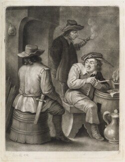 Boors, published by John Smith, after  David Teniers Jr - NPG D11849