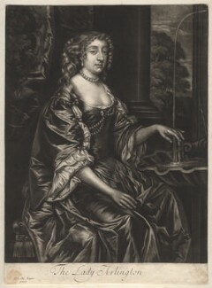 Isabella (née de Nassau), Countess of Arlington, published by Alexander Browne, after  Sir Peter Lely - NPG D13152