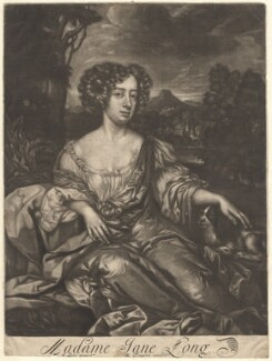 Jane Long, published by Richard Tompson, after  Sir Peter Lely, 1678-1679 - NPG  - © National Portrait Gallery, London