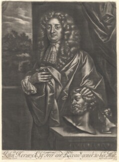 John Hervey, published by Richard Tompson, after  Sir Peter Lely, 1678-1679 - NPG D13166 - © National Portrait Gallery, London
