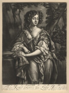 Susan (née Armine), Lady Belasyse, published by Richard Tompson, after  Sir Peter Lely, 1678-1679 - NPG  - © National Portrait Gallery, London