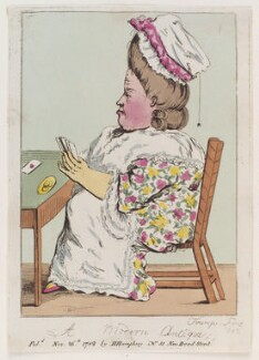 'A modern antique', probably by James Gillray, published by  Hannah Humphrey, published 26 November 1782 - NPG  - © National Portrait Gallery, London