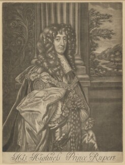 Prince Rupert, Count Palatine, published by Richard Tompson, after  Sir Peter Lely, 1678-1679 - NPG  - © National Portrait Gallery, London