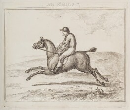 Horse and rider, by Unknown artist, circa 1783 - NPG  - © National Portrait Gallery, London