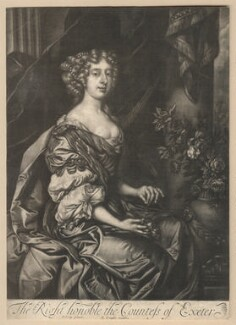Anne Cecil (née Cavendish), Countess of Exeter, published by Richard Tompson, after  Sir Peter Lely, 1678-1679 - NPG D13149 - © National Portrait Gallery, London