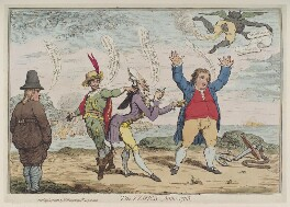 'The Times, Anno 1783', by James Gillray, published by  William Humphrey, published 14 April 1783 - NPG  - © National Portrait Gallery, London