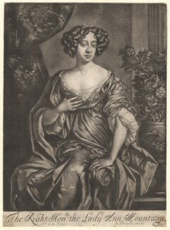 Anne Howard (née Montagu), Countess of Suffolk, published by Richard Tompson, after  Sir Peter Lely, 1678-1679 - NPG  - © National Portrait Gallery, London