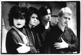 Siouxsie and the Banshees (Siouxie Sioux; Kenny Morris; John McKay; Steve Severin), by Pennie Smith - NPG x87838