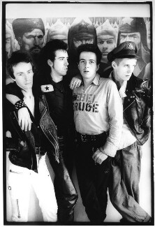 The Clash (Nicky ('Topper') Headon; Mick Jones; Joe Strummer; Paul Gustave Simonon), by Pennie Smith - NPG x87825