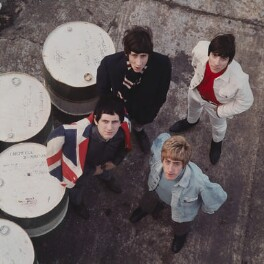 The Who (Pete Townshend; Keith Moon; Roger Daltrey; John Entwistle), by David Wedgbury - NPG x76440