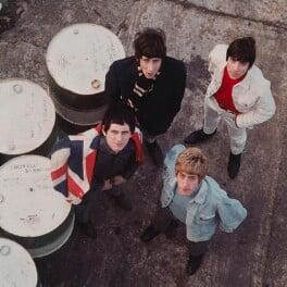 The Who (Pete Townshend; Keith Moon; Roger Daltrey; John Entwistle), by David Wedgbury, 1965 - NPG x76440 - © National Portrait Gallery, London