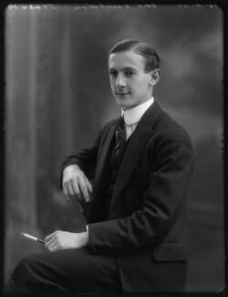 Charles Augustus Grey Bennet, 8th Earl of Tankerville, by Bassano Ltd - NPG x120680