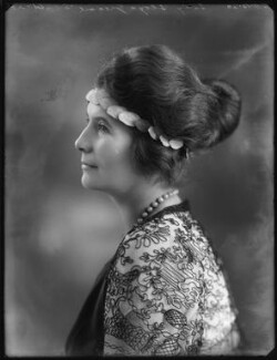 Mary Constance Cunliffe-Lister (née Boynton), Countess Swinton, by Bassano Ltd - NPG x120685