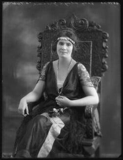 Mary Constance Cunliffe-Lister (née Boynton), Countess Swinton, by Bassano Ltd - NPG x120686