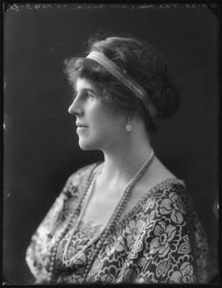 Hon. Hilda Allix (née Strutt), by Bassano Ltd, 10 November 1920 - NPG x120705 - © National Portrait Gallery, London