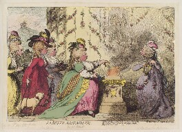 'La belle assemblêe', by James Gillray, published by  Hannah Humphrey - NPG D12361