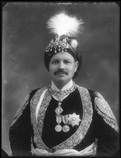 Sir Bhawani Singh Bahadur, Maharaja Rana of Jhalawar, by Bassano Ltd - NPG x96761