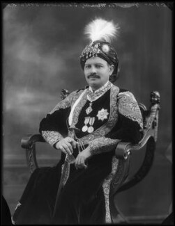 Sir Bhawani Singh Bahadur, Maharaja Rana of Jhalawar, by Bassano Ltd, 25 September 1920 - NPG x96764 - © National Portrait Gallery, London
