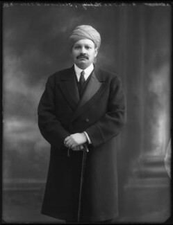 Sir Bhawani Singh Bahadur, Maharaja Rana of Jhalawar, by Bassano Ltd, 25 September 1920 - NPG x96767 - © National Portrait Gallery, London
