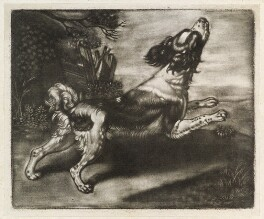 Dog Running, probably published by John Smith, after  Jan Verkolje - NPG D11875