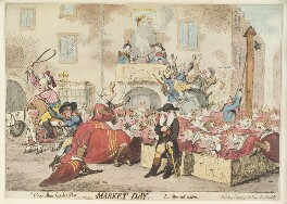 'Market day', by James Gillray, published by  Samuel William Fores, published 2 May 1788 - NPG  - © National Portrait Gallery, London
