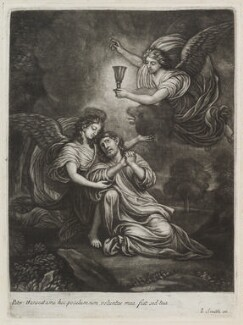 Our Saviour in the Garden, by Paul van Somer, published by  John Smith - NPG D11879