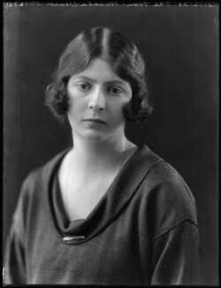 Ursula Tod (née Spencer Churchill), by Bassano Ltd, 21 December 1920 - NPG x37051 - © National Portrait Gallery, London