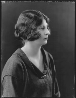 Ursula Tod (née Spencer Churchill), by Bassano Ltd, 21 December 1920 - NPG x37052 - © National Portrait Gallery, London