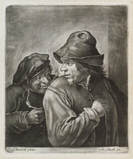 Boors, published by John Smith, after  David Teniers Jr - NPG D11881
