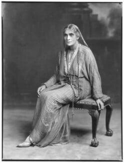 Cornelia Sorabji, by Lafayette (Lafayette Ltd), 20 June 1930 - NPG  - © National Portrait Gallery, London