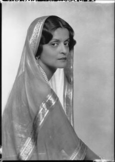 Indira Devi, Maharani of Cooch Behar, by Dorothy Wilding - NPG x34783