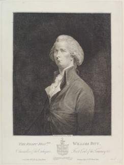 William Pitt, by James Gillray, published by  John Harris - NPG D12403