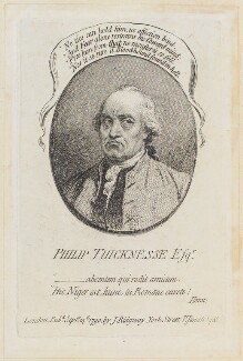 Philip Thicknesse, by James Gillray, published by  James Ridgway, published 14 September 1790 - NPG  - © National Portrait Gallery, London