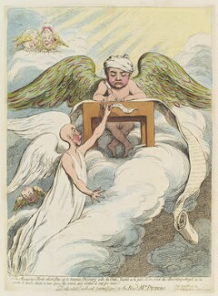'The accusing spirit which flew up to heavens chancery with the oath...', by James Gillray, published by  Hannah Humphrey, published 8 April 1791 - NPG  - © National Portrait Gallery, London