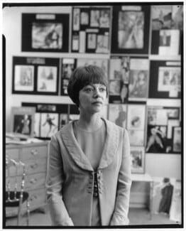 Jean Muir, by Baron Studios, 9 April 1965 - NPG x125399 - © National Portrait Gallery, London