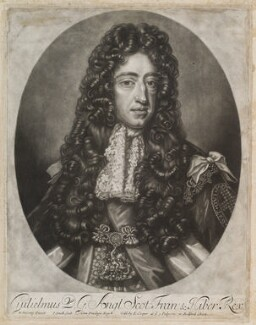 King William III, by John Smith, published by  Edward Cooper, after  Willem Wissing - NPG D11957