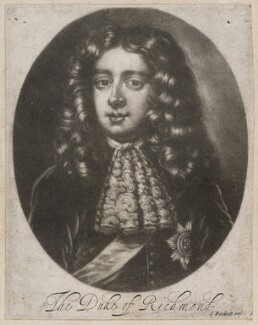 Charles Lennox, 1st Duke of Richmond and Lennox, by and published by Isaac Beckett - NPG D11960