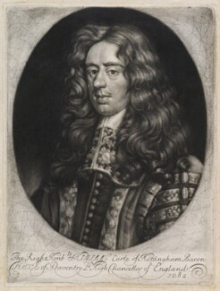 Heneage Finch, 1st Earl of Nottingham, probably by Edward Lutterell (Luttrell) - NPG D11963