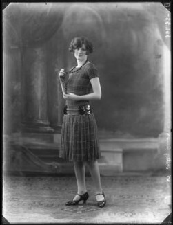 Kitty Allen, by Bassano Ltd, 3 November 1925 - NPG x101051 - © National Portrait Gallery, London