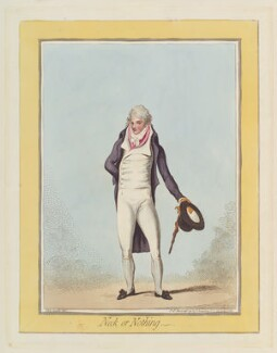 'Neck or nothing', by James Gillray, published by  Hannah Humphrey - NPG D12445