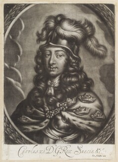 Charles XI, King of Sweden, published by John Smith - NPG D11964