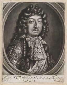 Louis XIV ('The Sun King'), King of France, published by John Smith, circa 1683-1729 - NPG  - © National Portrait Gallery, London