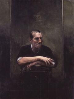 Pete Postlethwaite, by Christopher Thompson - NPG 6617