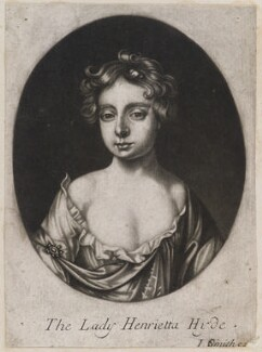 Henrietta Scott (née Hyde), Countess of Dalkeith, published by John Smith, after  Willem Wissing - NPG D11969