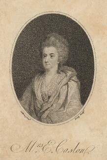 Elizabeth Caslon (née Cartlich), by William Satchwell Leney (Lenney), after  Charles Catton the Elder - NPG D13179