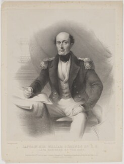 Sir William Symonds, by Edward Morton, after  Henry Wyndham Phillips - NPG D13184