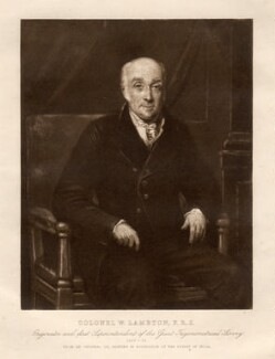 William Lambton, probably after William Havell - NPG D13185