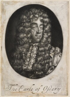 Thomas Butler, Earl of Ossory, possibly published by John Smith, circa 1687-1724 - NPG D11974 - © National Portrait Gallery, London