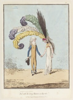 'And catch the living manners as they rise', by James Gillray, published by  Hannah Humphrey - NPG D12488